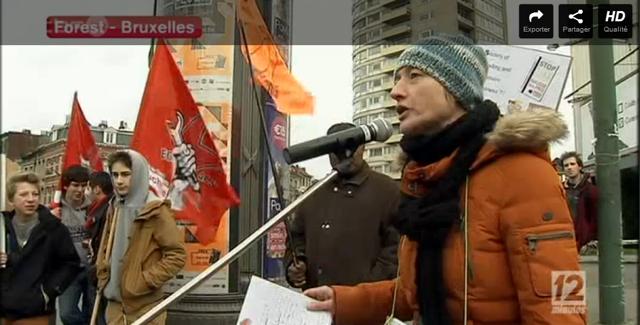 Prise de parole lors du rassemblement de Gauches Communes le 1er février 2014