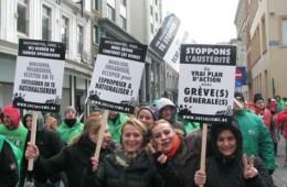L'austérité précarise Les femmes ! Difficultés financières, prix élevés du logement,manque d'écoles, de crèches, d'emplois,…