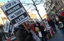 Stop de tariefverhogingen bij de MIVB – 1 februari protestactie voor gratis en degelijk openbaar vervoer