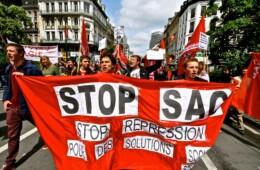 STOP aux SAC  et à l'AUSTERITE ! Non à la répression luttons pour une politique sociale !